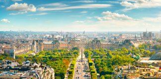 Lo straordinario giardino degli Champs- Élysées