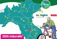 Al via il Clima Tour: 2000 km in bici