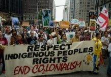 I popoli indigeni hanno evitato